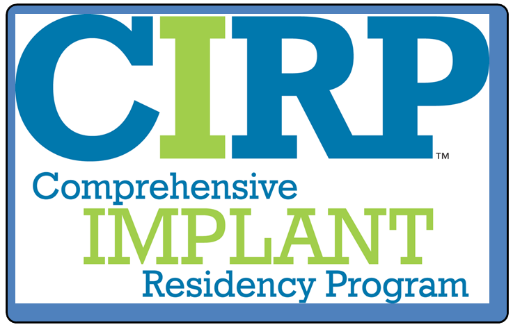 CIRP - comprehensive implant residency program